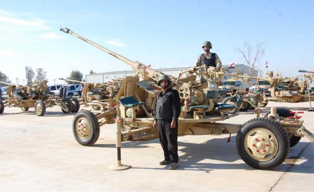 اعاد  تاهيل  الاسلحة القديمة في الجيش العراقي 2ciekq8