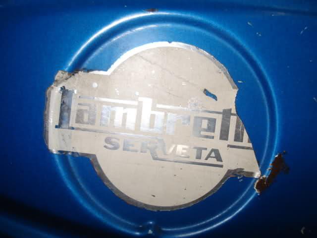 Escudo depósito Lambretta Trepador 2cq0l03