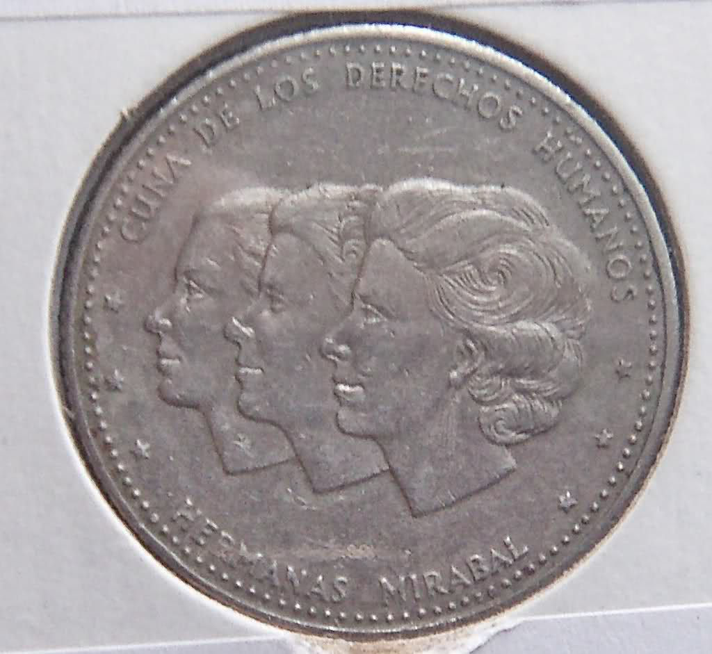 República Dominicana: 25 Centavos de 1986 2ey8f1e
