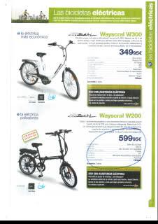 """Toma de contacto con la Wayscral W200 de Norauto (bici eléctrica plegable del """"Norrauto"""") 2nrn0gn"""