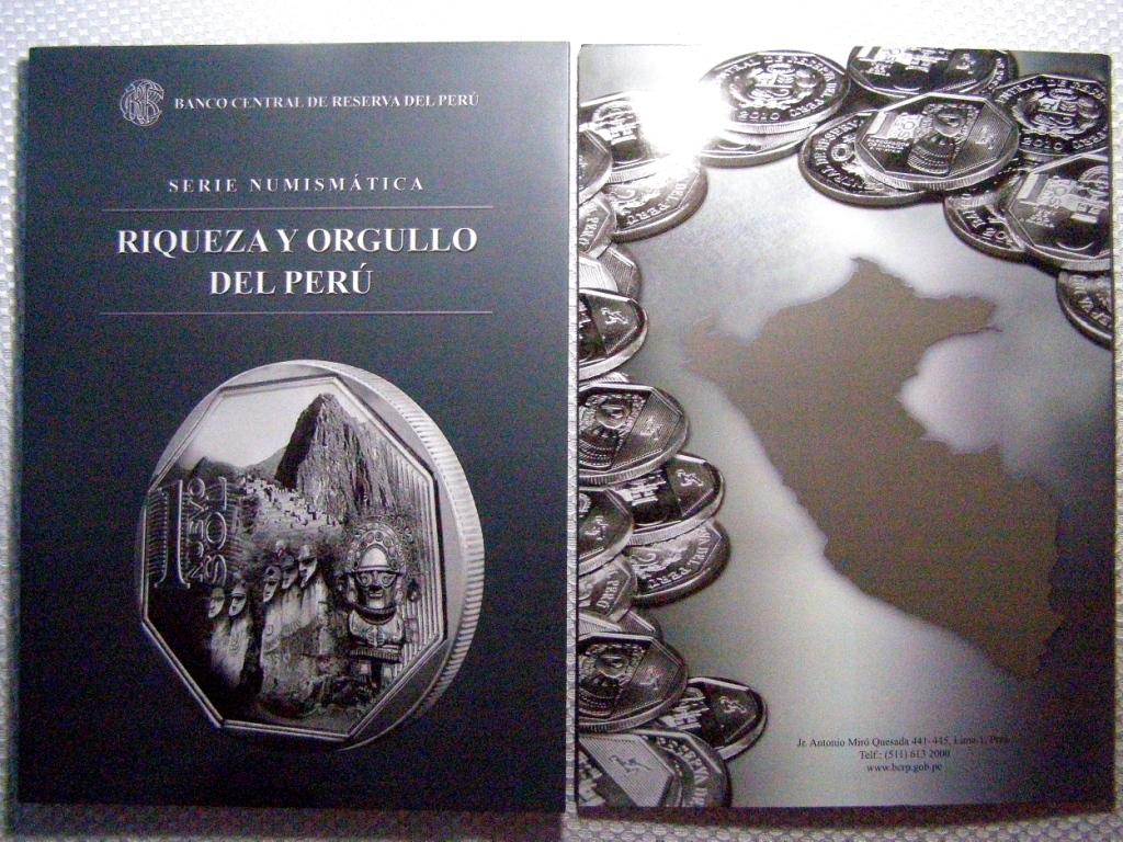 Serie Riqueza y Orgullo de Perú 2ptq977
