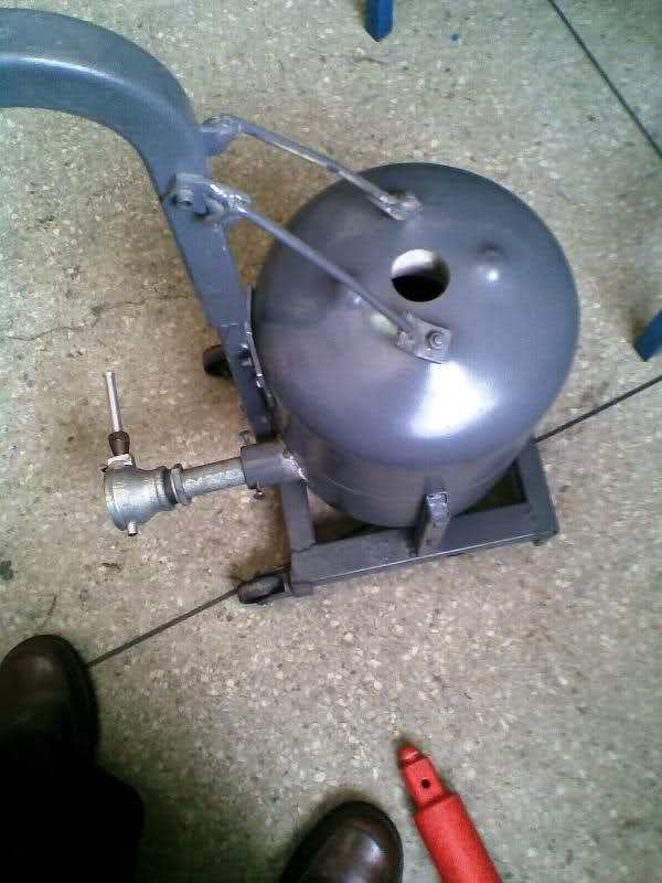 ALUMINIO - Horno a gas para fundir aluminio y bronce 2v34uc3