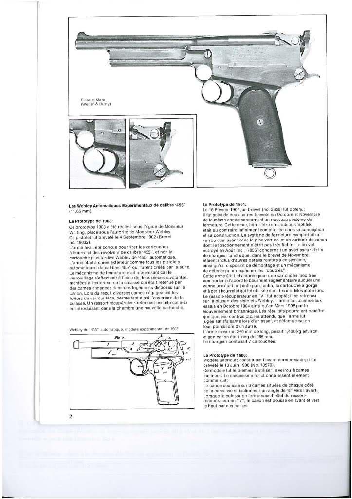 pistolets automatiques webley & scott 2vlo6cj