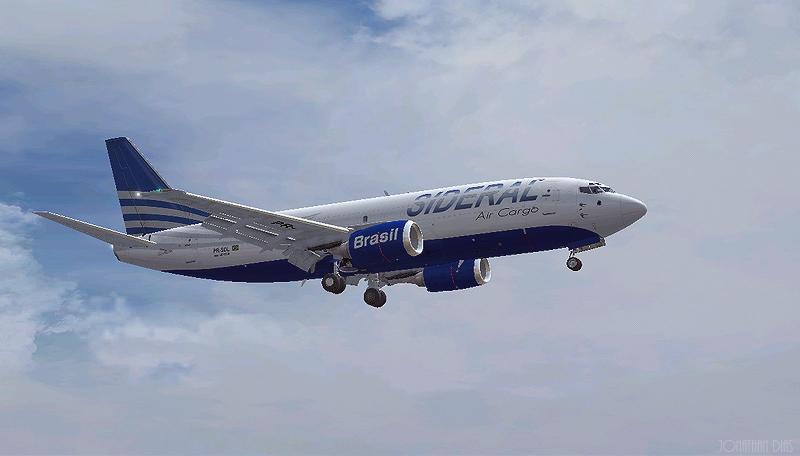 (Photoshop) Boeing 737 -300F | Sideral Air Cargo - SBBR - SBGL 2wn4nqa