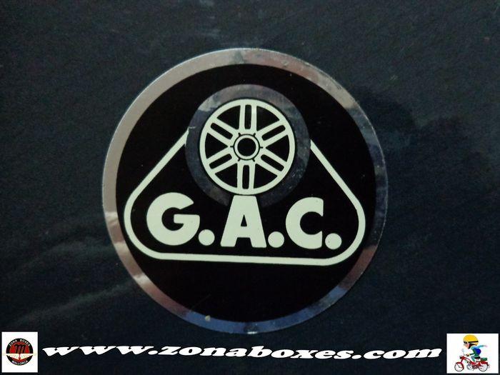 Pegatina GAC deposito. 30ax8c3