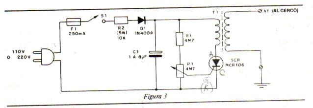 Nesecito circuito boyero electrico con fly back de tv 30n7vv7