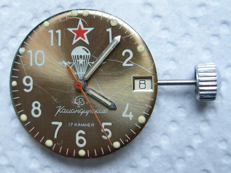 vostok - Mis au point d'un Vostok Komandirskie 34rsxfc