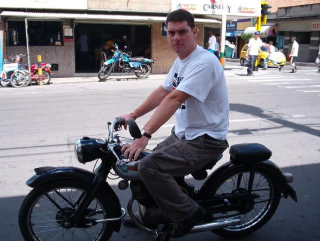 Motos clásicas en Colombia en los años 50 5agsxz