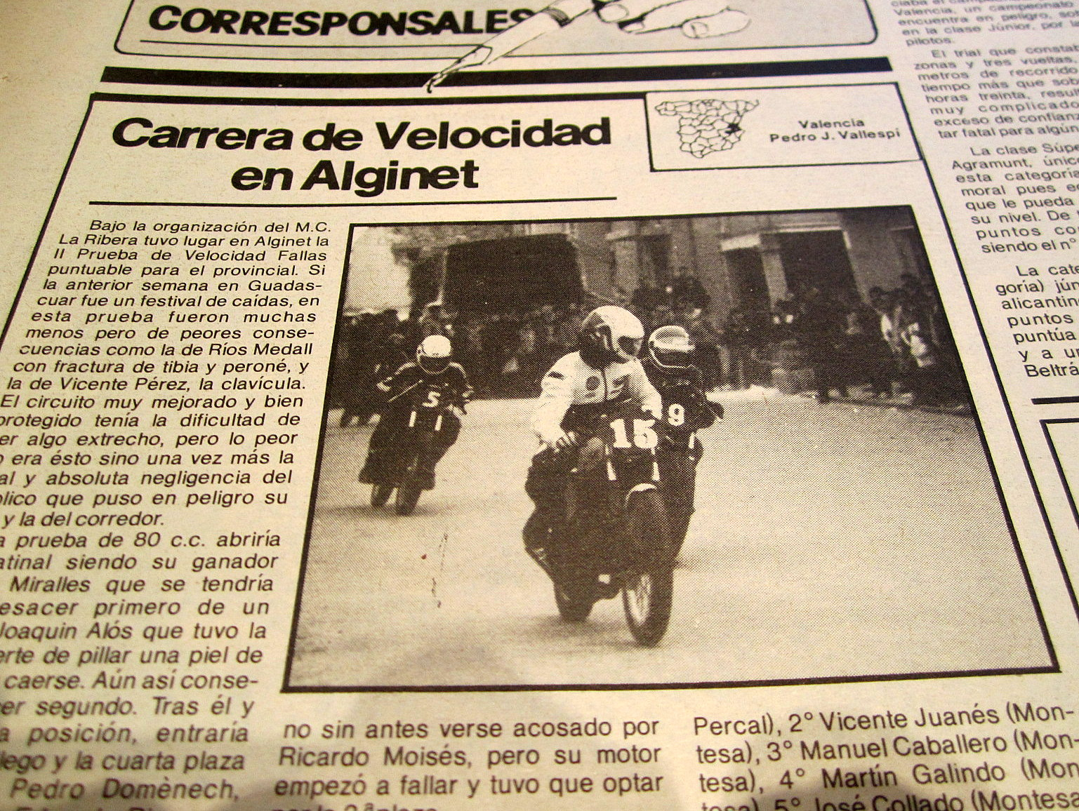 Antiguos pilotos: José Luis Gallego (V) A2emo
