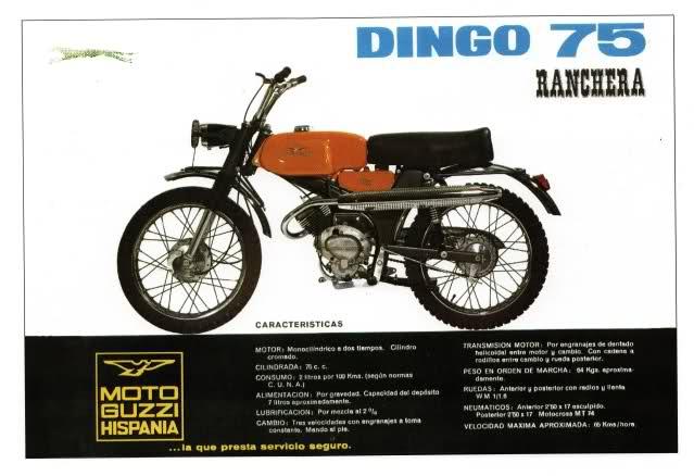 guzzi - Guzzi Dingo 75 Ranchera * Carlos Ft75v