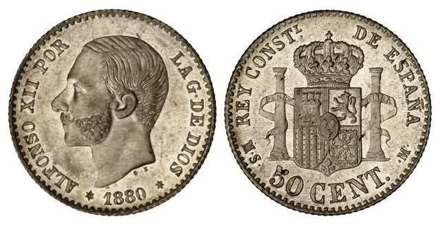 Estudio monográfico: Las monedas de Alfonso XII (1875-1885) Mbtnro
