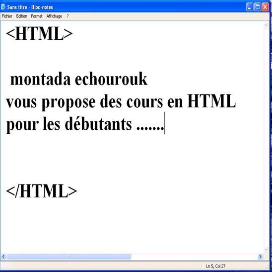 الدرس الثاني - أساسيات الـ HTML Mutk0j