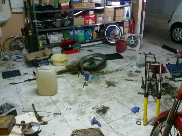 Diario restauración Puch Minicross N6djrt