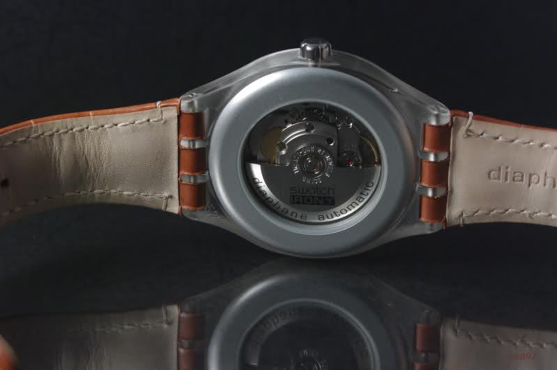 Swatch Irony Diaphane Automatique - Single Malt Nq36gz