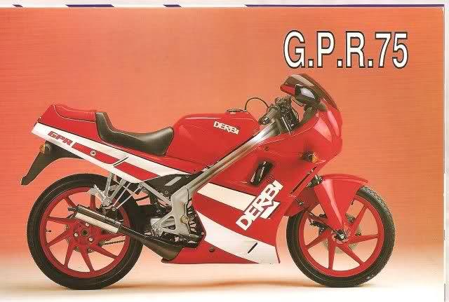 Derbi GPR 75 Osv12v