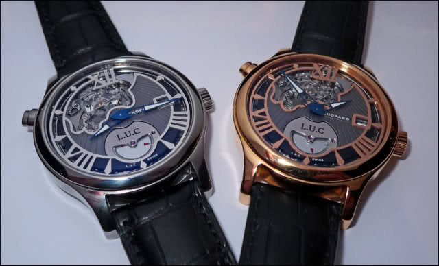 Chopard LUC Tourbillon Tech Steel Wings S5lojk