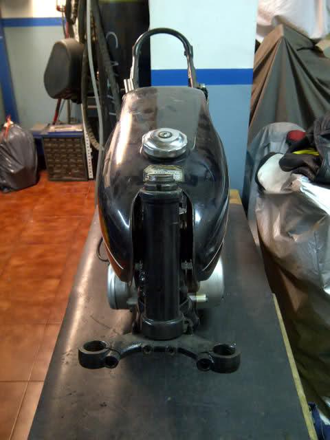 Proyecto racing: Yamaha RD-50 Vko4l