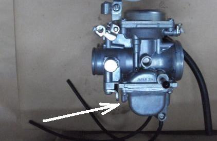Vueltas tornillo de aire carburador moto