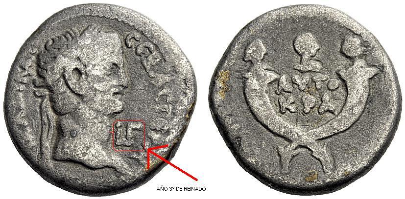 La moneda provincial romana. La ceca de Alexandría X516k0
