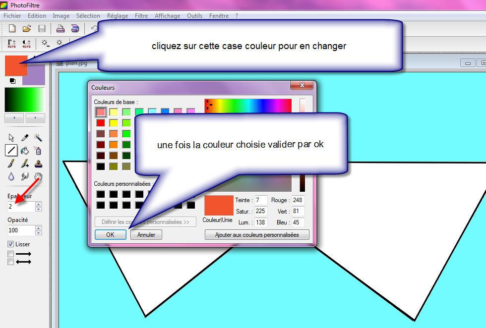 création d'un panneautage avec un logiciel gratuit de retouche d'images 10eq39x