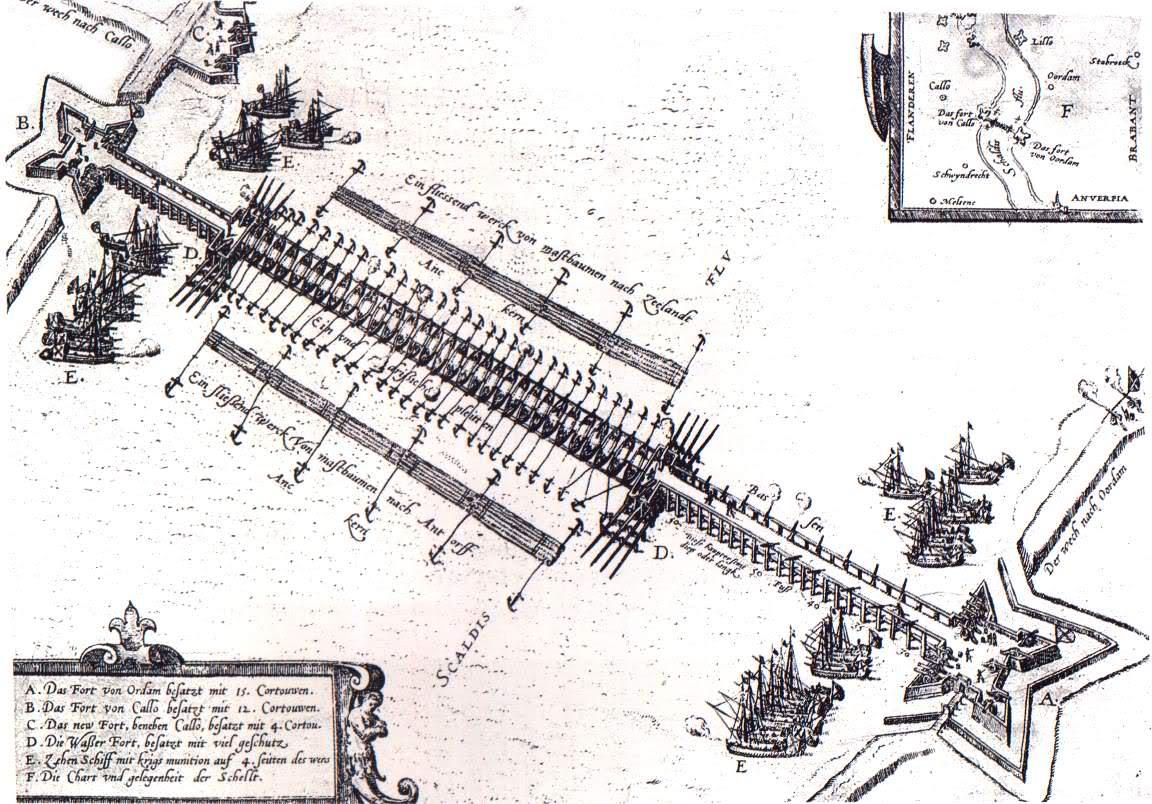 Jetón Toma de Amberes. Alejandro Farnesio. 1585. Historia del soldado Juan Gálvez. 11hyk9l