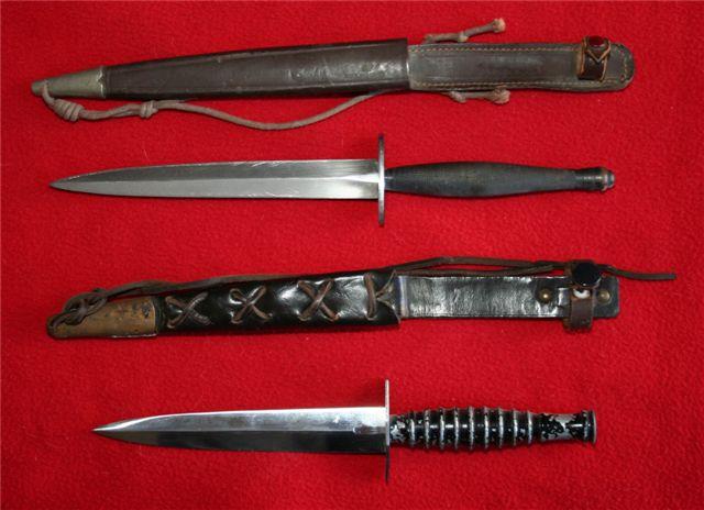 collection de lames de fabnatcyr (dague poignard couteau) 14icr3k