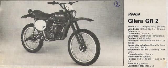 Mi Gilera GR-2 1586zbo