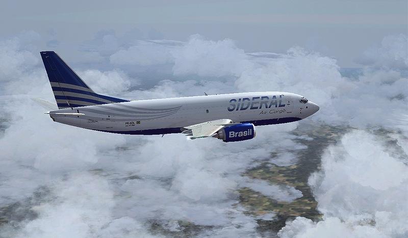 (Photoshop) Boeing 737 -300F | Sideral Air Cargo - SBBR - SBGL 20qf5mh
