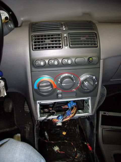 Changement radiateur chauffage GT sans clilm  24l982v