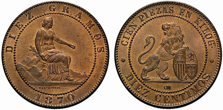 Estudio monográfico: Las monedas en el reinado de Amadeo I (1871-1873) 24mux5t