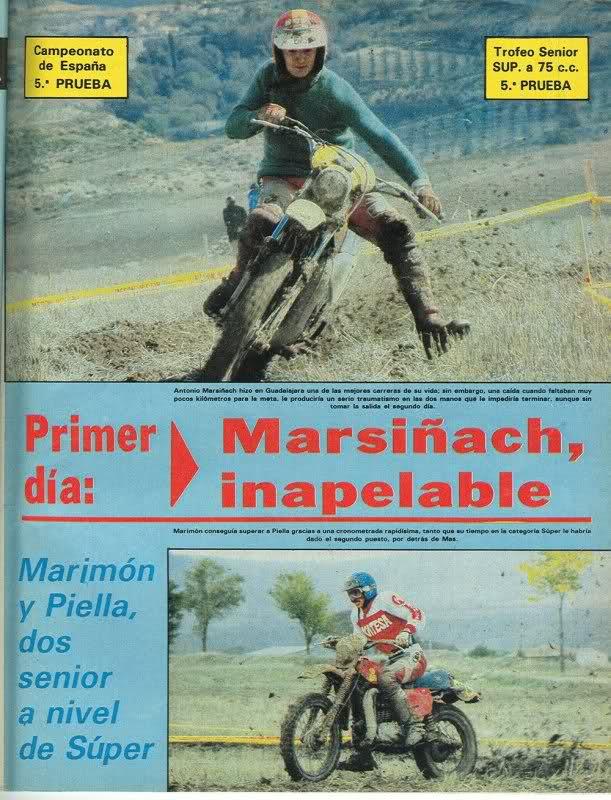Carlos Mas y Montesa, reportajes 290pvlu