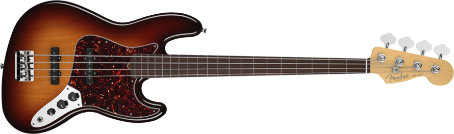 Novo Fender Jazz Bass Fretless 2dt3y15