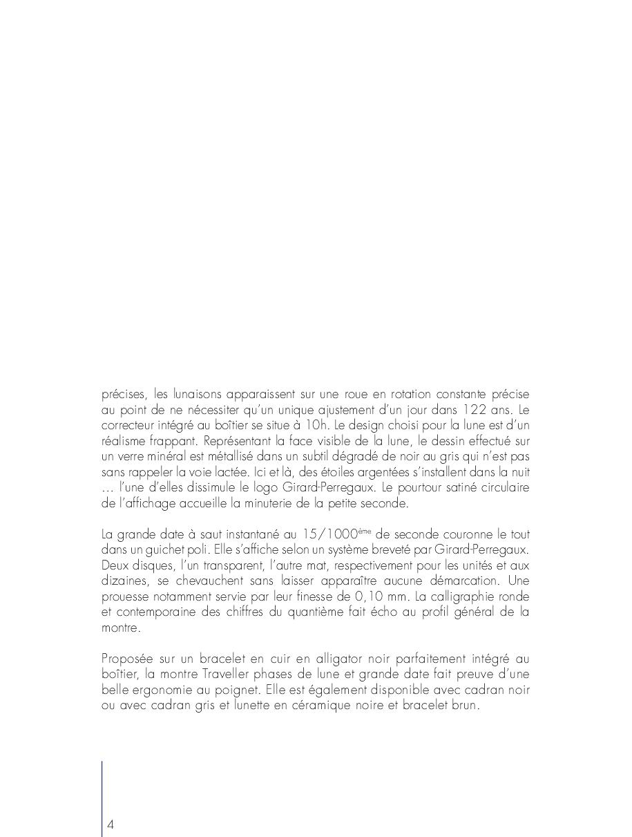 Pré Baselworld 2013 - GIRARD PERREGAUX TRAVELLER 2dtda34