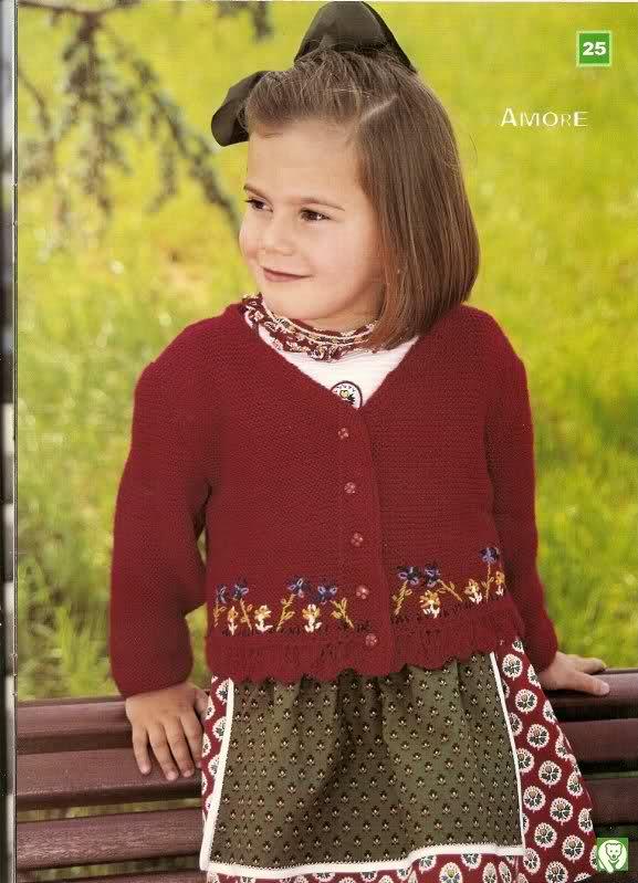 patrones - busco patrones para chaqueta niña 2e54m7d