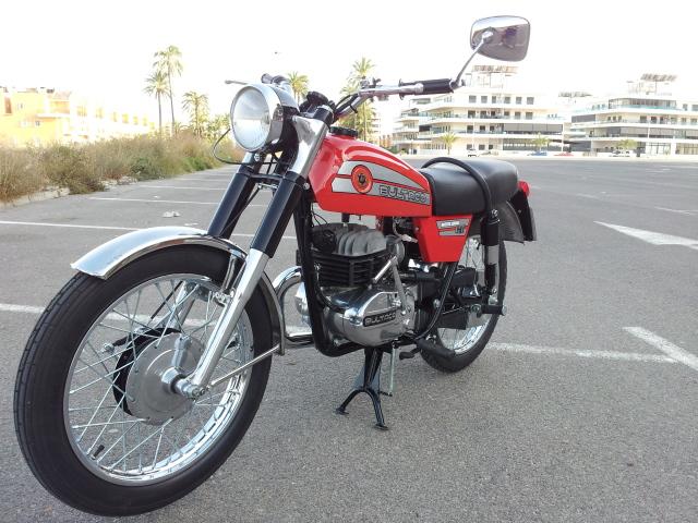 Restauración Bultaco Mercurio 175 GT 2efuszo