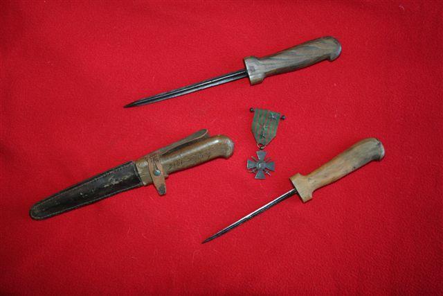 collection de lames de fabnatcyr (dague poignard couteau) 2ex3at5