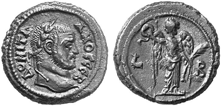 La moneda provincial romana. La ceca de Alexandría 2m84e89