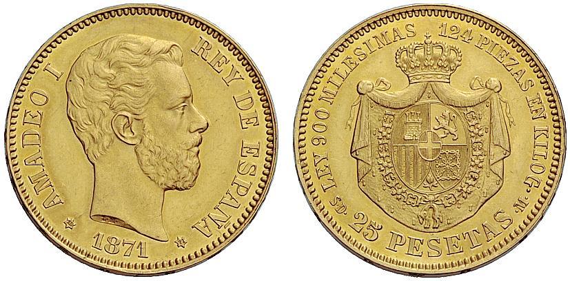 Estudio monográfico: Las monedas en el reinado de Amadeo I (1871-1873) 2ry2b00