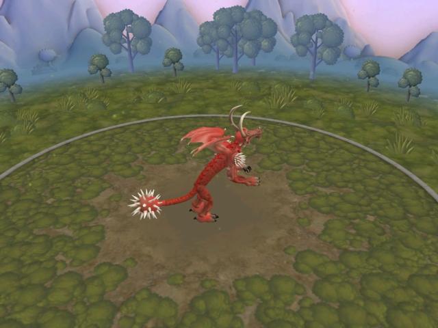 2 dragones que son: frost dragon y dragon rojo 2wqsupf