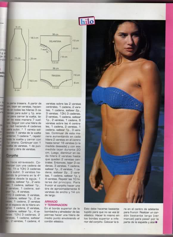 patrones de bikinis/bañadores mujer a crochet 2zspoqg