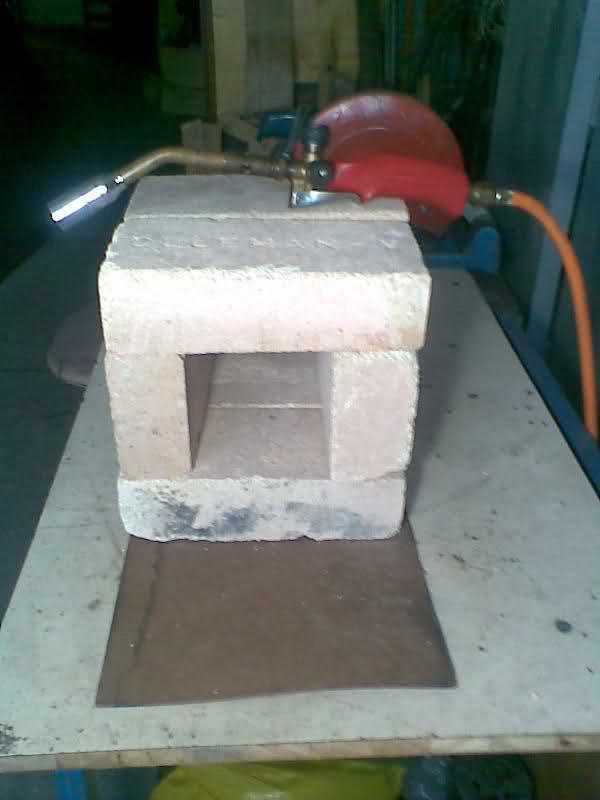 Fragua casera a Gas--Gas Forge 300r502