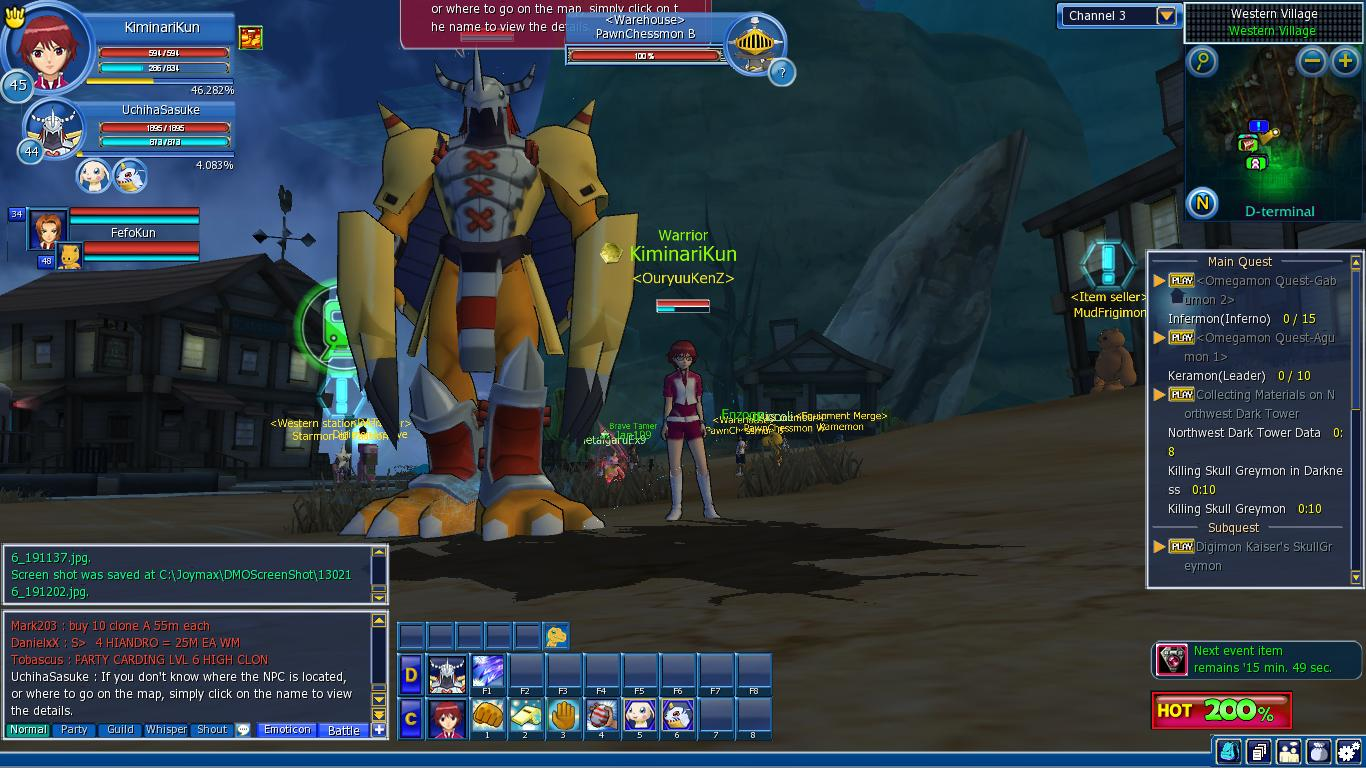Digimon Masters Online 30acrxd