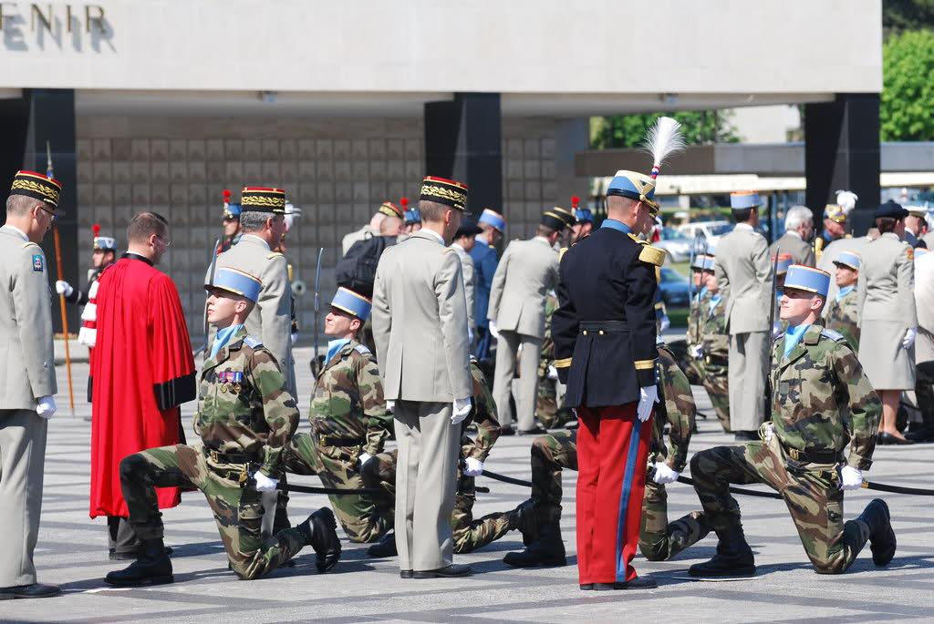 """Adoubement promotion ESM 4eme Bataillon """"Colonel Jean SASSI"""" 349dr9f"""