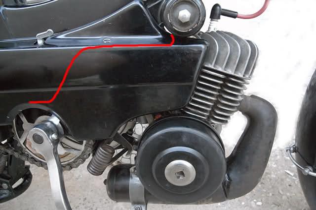 Motor AV10 en Cady 351tobm