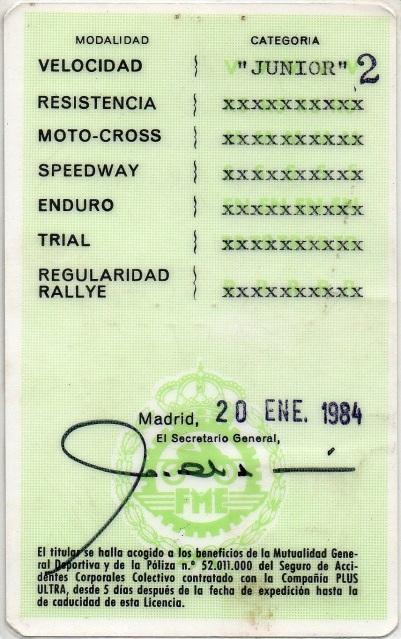 gilera - Antiguos pilotos: José Luis Gallego (V) Dr60lx