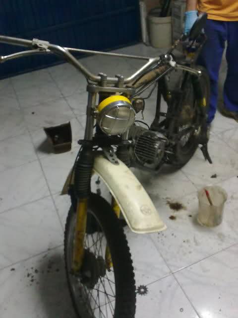 Diario restauración Puch Minicross F50yu9