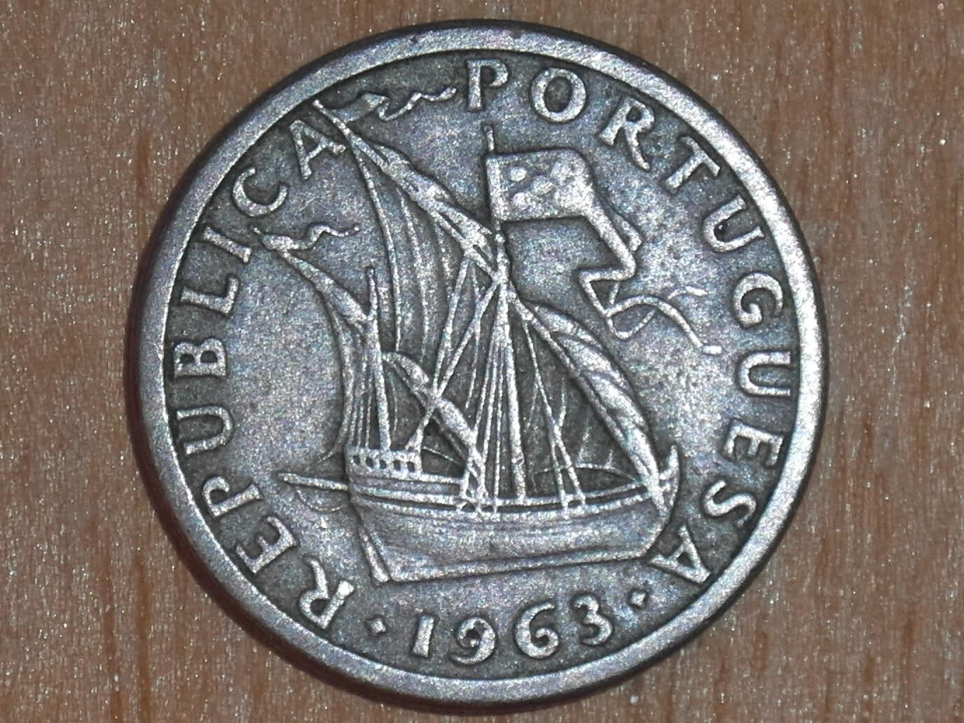 2$50 Escudos Republica Portuguesa 1963 Igj4aq