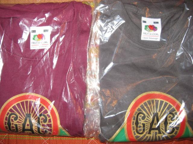 Camisetas logo G.A.C. Mobylette 2019 Os48sh
