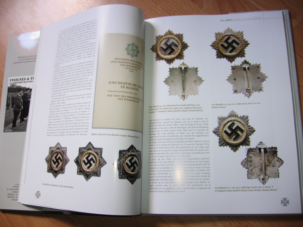 livres  Ordres & Décorations Wehrmarcht  SUPERBE !!!  Sl7di0