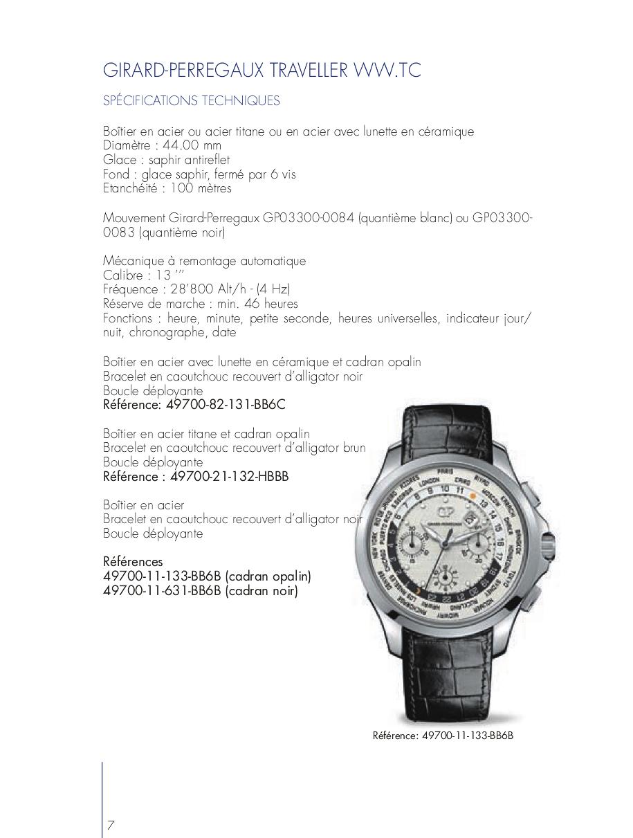 Pré Baselworld 2013 - GIRARD PERREGAUX TRAVELLER Xptsw4